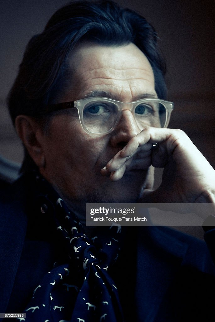 Actor Gary Oldman is photographed for Paris Match on December 14, 2012 in Paris, France.
