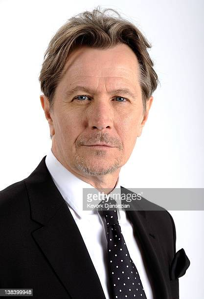 Actor Gary Oldman poses for a portrait during the 84th Academy Awards Nominations Luncheon at The Beverly Hilton hotel on February 6 2012 in Beverly...