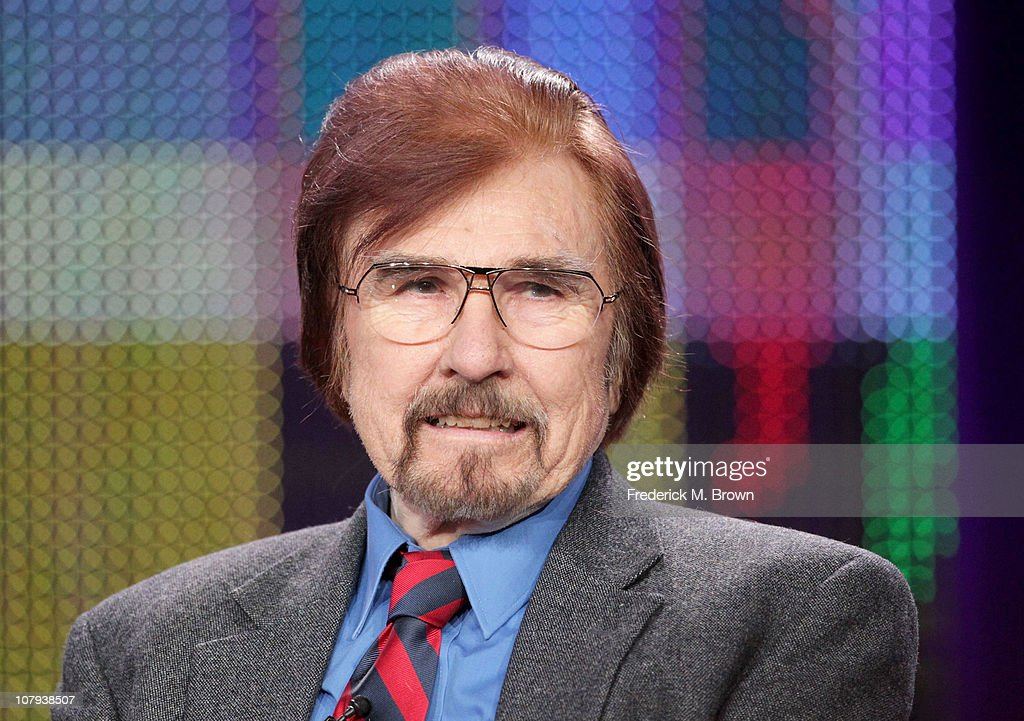 Actor Gary Owens speaks during the 'The Best of LaughIn' panel at the PBS portion of the 2011 Winter TCA press tour held at the Langham Hotel on...