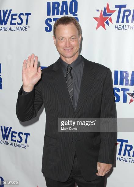 Actor Gary Sinise arrives at 'A Night Of Honour' Hosted By Dr Phil McGraw at the Universal Hilton Hotel on October 4 2009 in Universal City California