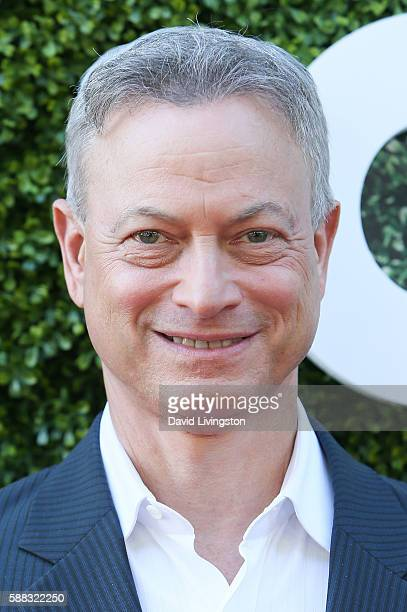 Actor Gary Sinise arrives at the CBS CW Showtime Summer TCA Party at the Pacific Design Center on August 10 2016 in West Hollywood California
