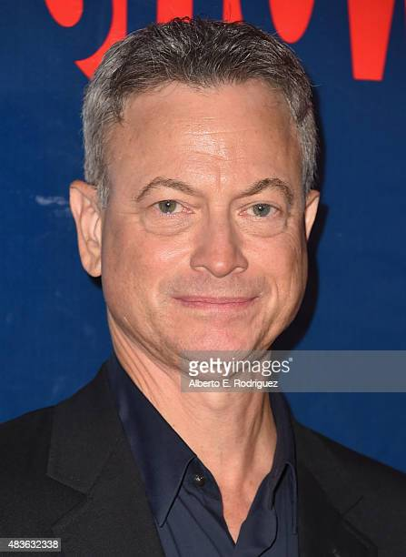 Actor Gary Sinise attends CBS' 2015 Summer TCA party at the Pacific Design Center on August 10 2015 in West Hollywood California