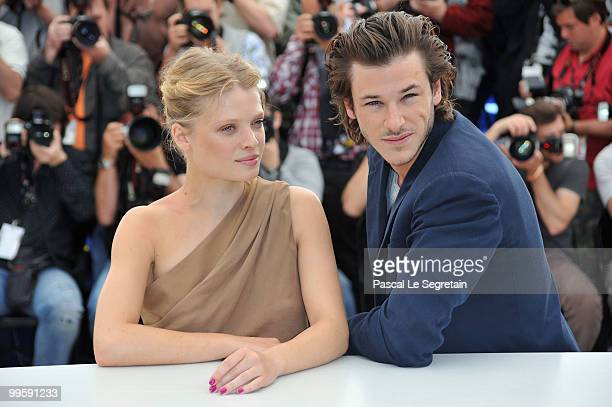 Actor Gaspard Ulliel and actress Melanie Thierry attend the 'The Princess of Montpensier' Photocall at the Palais des Festivals during the 63rd...