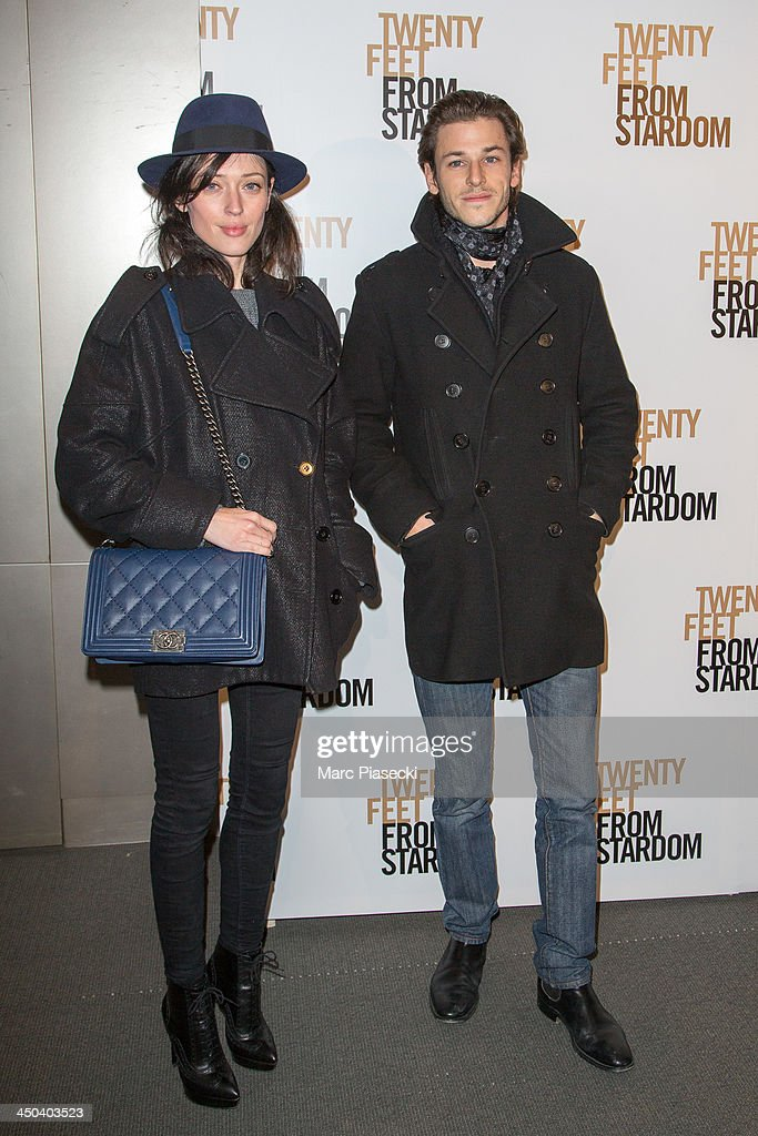 Actor <a gi-track='captionPersonalityLinkClicked' href=/galleries/search?phrase=Gaspard+Ulliel&family=editorial&specificpeople=241206 ng-click='$event.stopPropagation()'>Gaspard Ulliel</a> and friend Gaelle attend the 'Twenty feet from stardom' Paris premiere at Cinema UGC Normandie on November 18, 2013 in Paris, France.
