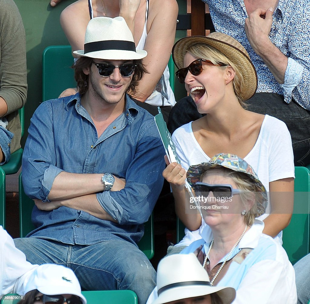 celebrity sightings at the french open june 3rd getty images. Black Bedroom Furniture Sets. Home Design Ideas
