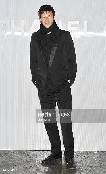Actor Gaspard Ulliel attends the Chanel Party on March 23 2012 in Tokyo Japan