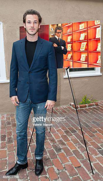 Actor Gaspard Ulliel attends The Consul General Of France Mr Axel Cruau ceremony to honor The Official France Entry For Best Foreign Language Film...