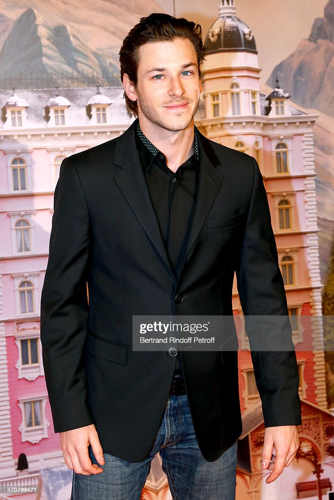 Actor <a gi-track='captionPersonalityLinkClicked' href=/galleries/search?phrase=Gaspard+Ulliel&family=editorial&specificpeople=241206 ng-click='$event.stopPropagation()'>Gaspard Ulliel</a> attends 'The Grand Budapest Hotel' Paris Premiere at Cinema Gaumont Opera Capucines on February 20, 2014 in Paris, France.