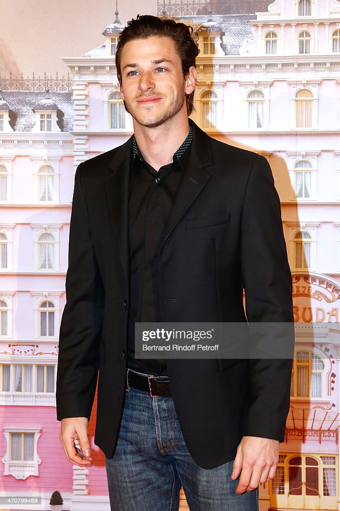 Actor Gaspard Ulliel attends 'The Grand Budapest Hotel' Paris Premiere at Cinema Gaumont Opera Capucines on February 20, 2014 in Paris, France.