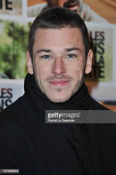 Actor Gaspard Ulliel attends the Paris Premiere of the film 'The Way Back' at Cinematheque Francaise on December 13 2010 in Paris France