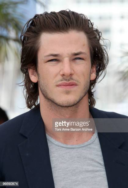 Actor Gaspard Ulliel attends the 'The Princess Of Montpensier' Photo Call held at the Palais des Festivals during the 63rd Annual International...