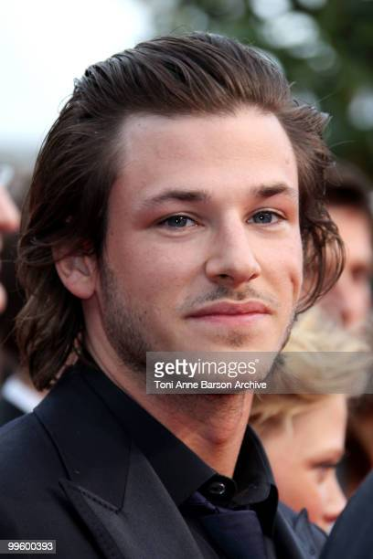 Actor Gaspard Ulliel attends the 'The Princess of Montpensier' Premiere held at the Palais des Festivals during the 63rd Annual International Cannes...