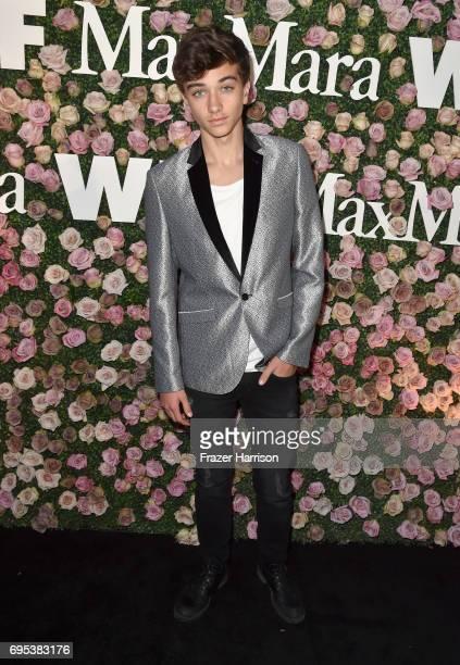 Actor Gavin Casalegno at Max Mara Celebrates Zoey Deutch The 2017 Women In Film Max Mara Face of the Future at Chateau Marmont on June 12 2017 in Los...