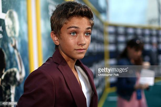 Actor Gavin Casalegno attends the premiere of Tri Star Pictures' 'When The Game Stands Tall' at ArcLight Cinemas on August 4 2014 in Hollywood...