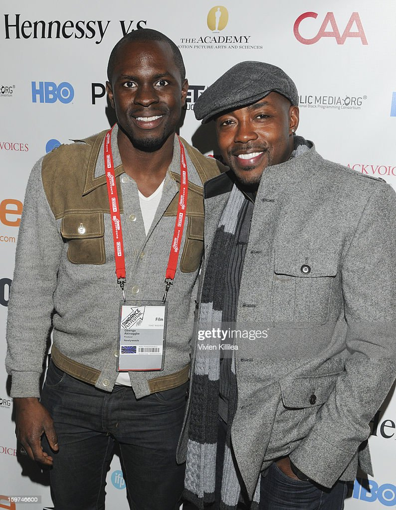 Actor Gbenga Akinnagbe and producer Will Packer attend the Academy Conversation With Will Packer At Sundance Film Festival - 2013 Park City on January 19, 2013 in Park City, Utah.