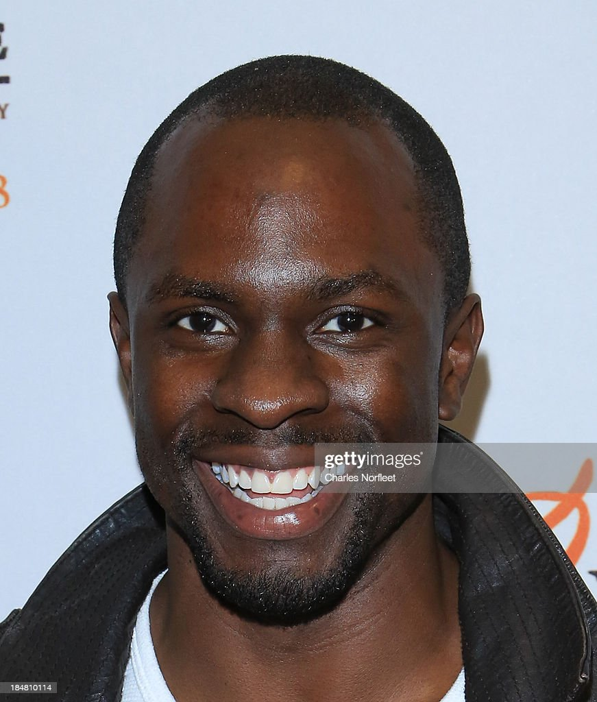 Actor <a gi-track='captionPersonalityLinkClicked' href=/galleries/search?phrase=Gbenga+Akinnagbe&family=editorial&specificpeople=2293588 ng-click='$event.stopPropagation()'>Gbenga Akinnagbe</a> attends the '12 Years A Slave' screening at AMC Empire 25 theater on October 16, 2013 in New York City.