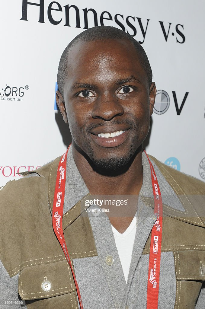 Actor Gbenga Akinnagbe attends the Academy Conversation With Will Packer At Sundance Film Festival - 2013 Park City on January 19, 2013 in Park City, Utah.