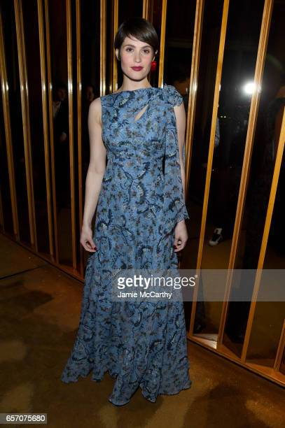 Actor Gemma Arterton attends the After Party for the Premiere of 'Their Finest' hosted by STXfilms and EuropaCorp with The Cinema Society at The Top...