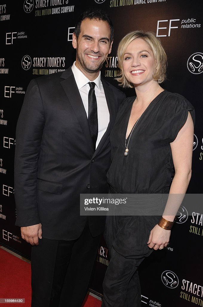 Actor Gene Gabriel and Dancer and choreographer Stacey Tookey attend FOX's 'So You Think You Can Dance' Stacey Tookey Debuts 'Moments Defined' Dance Company at Nate Holden Theatre Center on November 9, 2012 in Los Angeles, California.