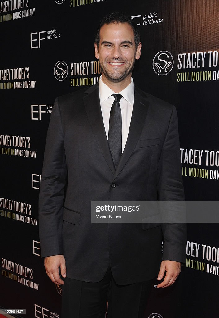 Actor Gene Gabriel attends FOX's 'So You Think You Can Dance' Stacey Tookey Debuts 'Moments Defined' Dance Company at Nate Holden Theatre Center on November 9, 2012 in Los Angeles, California.