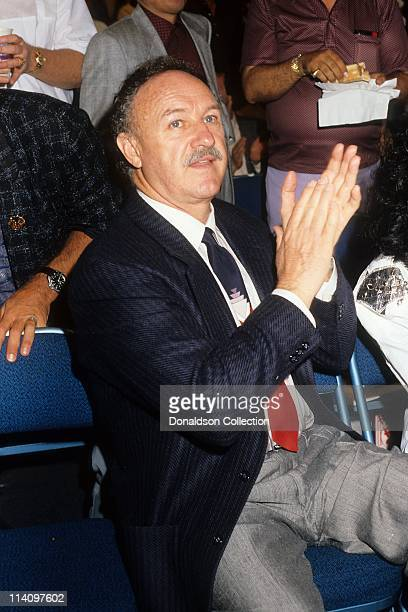 Actor Gene Hackman poses for a portrait in 1986 in Los Angeles California