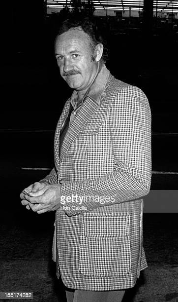 Actor Gene Hackman sighted on April 17 1977 at Chasen's Restaurant in Beverly Hills California
