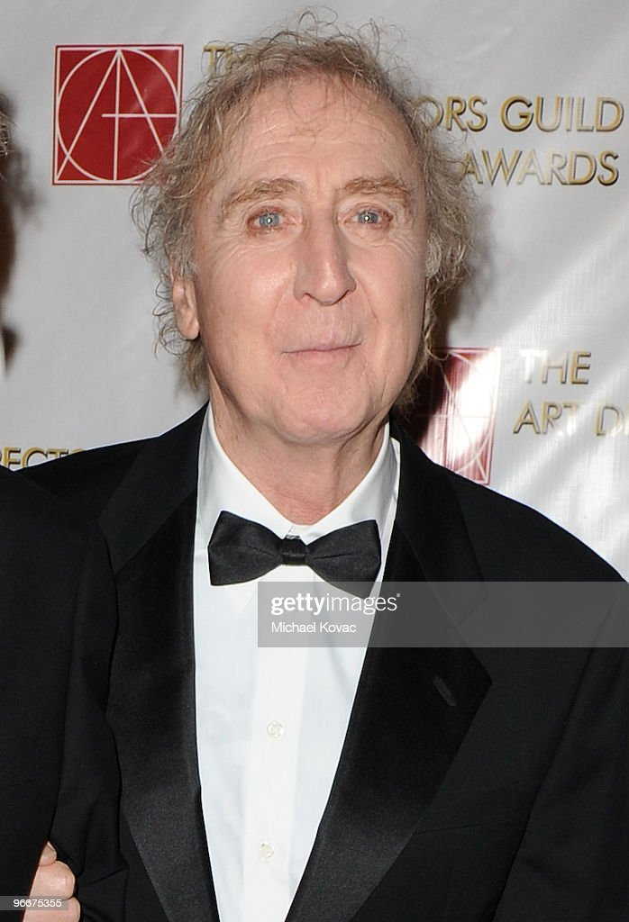 Actor Gene Wilder attends the 14th Annual Art Directors Guild Awards at The Beverly Hilton Hotel on February 13, 2010 in Beverly Hills, California.