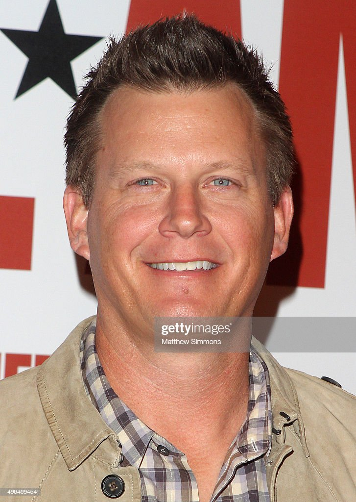 Actor Geoff Blum attends the premiere of Clarius Entertainment's 'My All American' at The Grove on November 9, 2015 in Los Angeles, California.