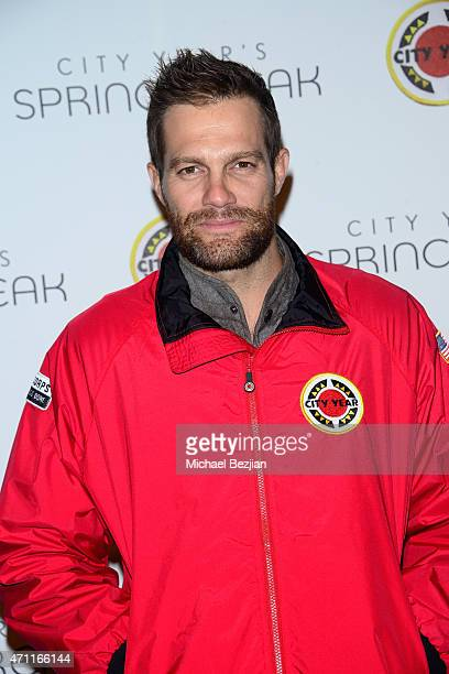 Actor Geoff Stults attends City Year Los Angeles Spring Break at Sony Studios on April 25 2015 in Los Angeles California