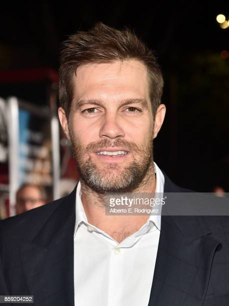 Actor Geoff Stults attends the premiere of Columbia Pictures' 'Only The Brave' at the Regency Village Theatre on October 8 2017 in Westwood California