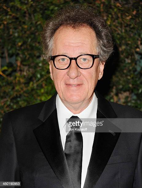 Actor Geoffrey Rush arrives at The Board Of Governors Of The Academy Of Motion Picture Arts And Sciences' Governor Awards at Dolby Theatre on...