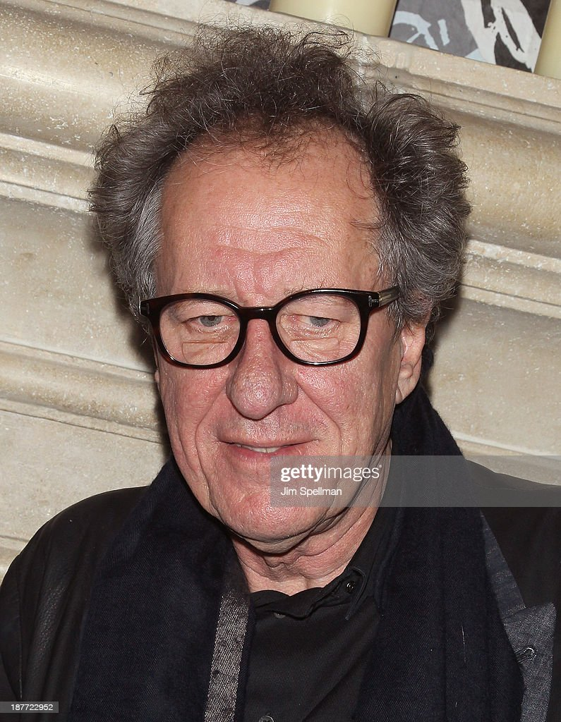 Actor <a gi-track='captionPersonalityLinkClicked' href=/galleries/search?phrase=Geoffrey+Rush&family=editorial&specificpeople=201849 ng-click='$event.stopPropagation()'>Geoffrey Rush</a> attends the FilmDistrict & Complex Media with The Cinema Society & Grey Goose screening of 'Oldboy' after party at TAO Downtown on November 11, 2013 in New York City.