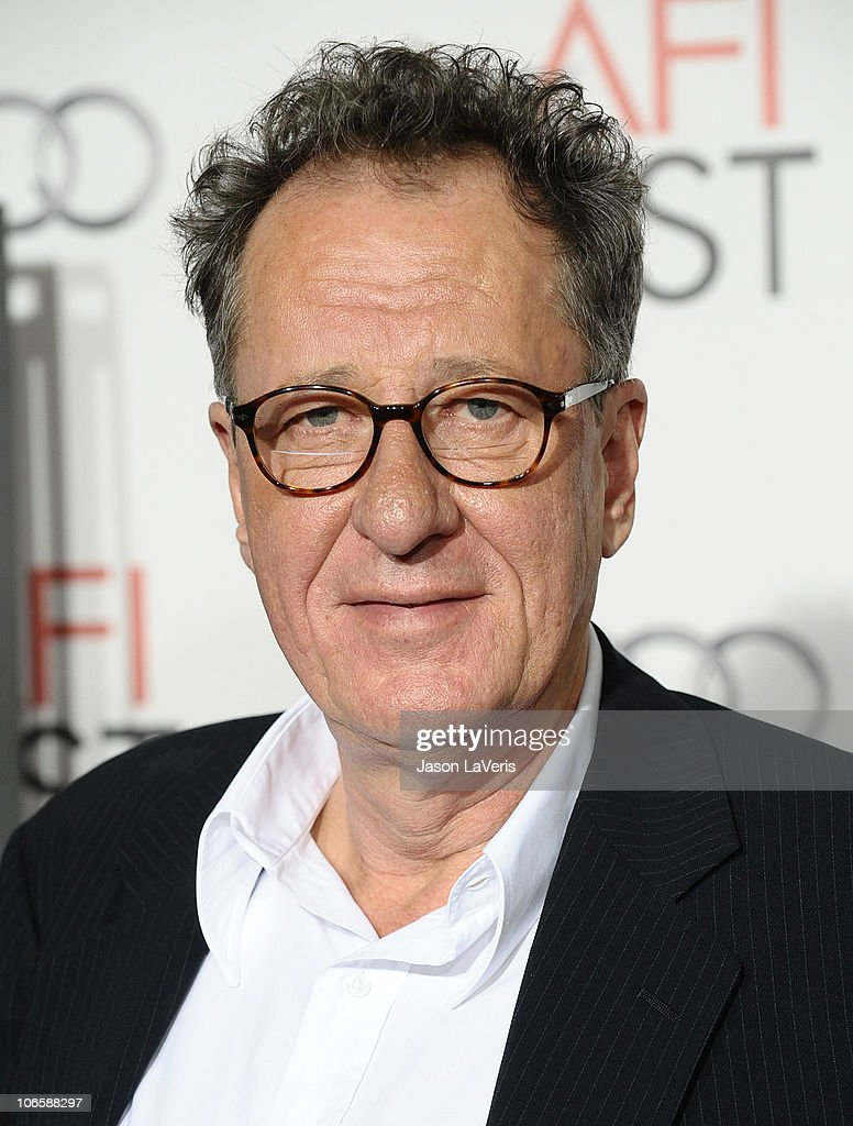 Actor Geoffrey Rush attends the premiere of 'The King's Speech' during the 2010 AFI Fest at Grauman's Chinese Theatre on November 5, 2010 in Hollywood, California.