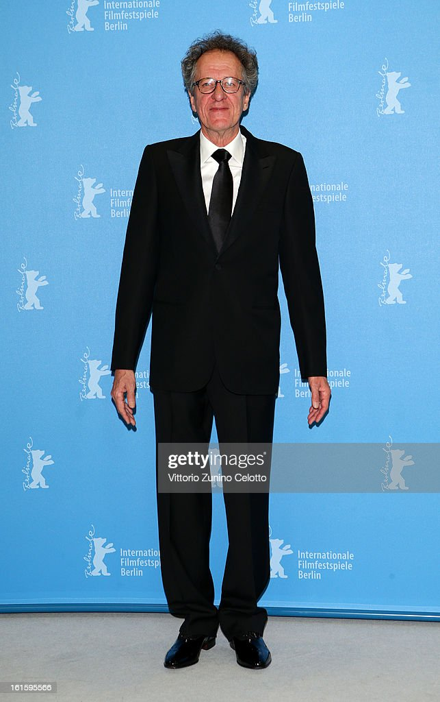 Actor <a gi-track='captionPersonalityLinkClicked' href=/galleries/search?phrase=Geoffrey+Rush&family=editorial&specificpeople=201849 ng-click='$event.stopPropagation()'>Geoffrey Rush</a> attends the 'The Best Offer' Photocall during the 63rd Berlinale International Film Festival at the Grand Hyatt Hotel on February 12, 2013 in Berlin, Germany.