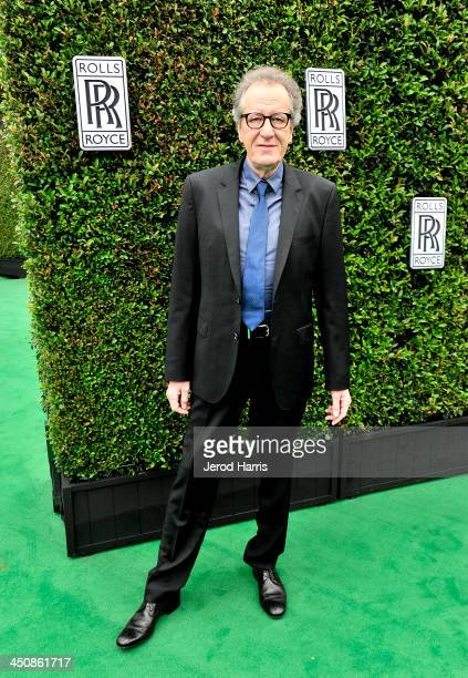 Actor Geoffrey Rush attends Variety Awards Studio Day 1 at the Leica Gallery and Store on November 20 2013 in West Hollywood California