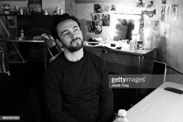 Actor George Blagden is photographed for The Picture Journal on February 14 2017 in London England