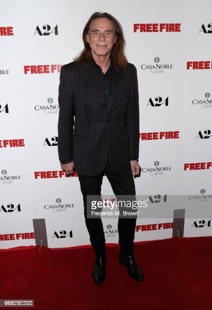 Actor George Blodwell attends the premiere of A24's 'Free Fire' at ArcLight Hollywood on April 13 2017 in Hollywood California