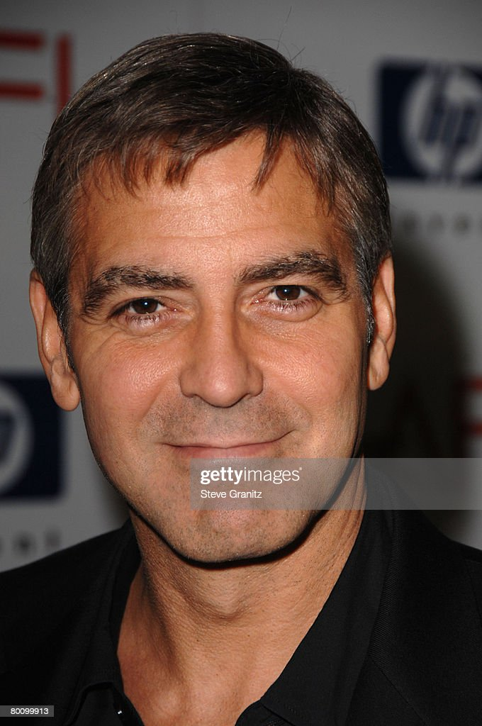 Actor George Clooney arrives at the 2008 AFI Luncheon held at the Four Seasons Hotel on January 11, 2008 in Los Angeles, California.