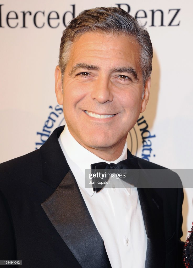 Actor <a gi-track='captionPersonalityLinkClicked' href=/galleries/search?phrase=George+Clooney&family=editorial&specificpeople=202529 ng-click='$event.stopPropagation()'>George Clooney</a> arrives at the 26th Anniversary Carousel Of Hope Ball at The Beverly Hilton Hotel on October 20, 2012 in Beverly Hills, California.