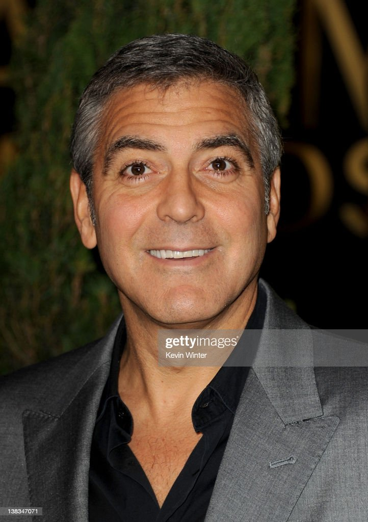 Actor George Clooney arrives at the 84th Academy Awards Nominations Luncheon at The Beverly Hilton hotel on February 6 2012 in Beverly Hills...