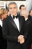 Actor George Clooney arrives at the 84th Annual Academy Awards held at the Hollywood Highland Center on February 26 2012 in Hollywood California