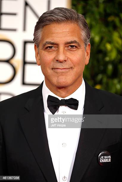 Actor George Clooney attends the 72nd Annual Golden Globe Awards at The Beverly Hilton Hotel on January 11 2015 in Beverly Hills California