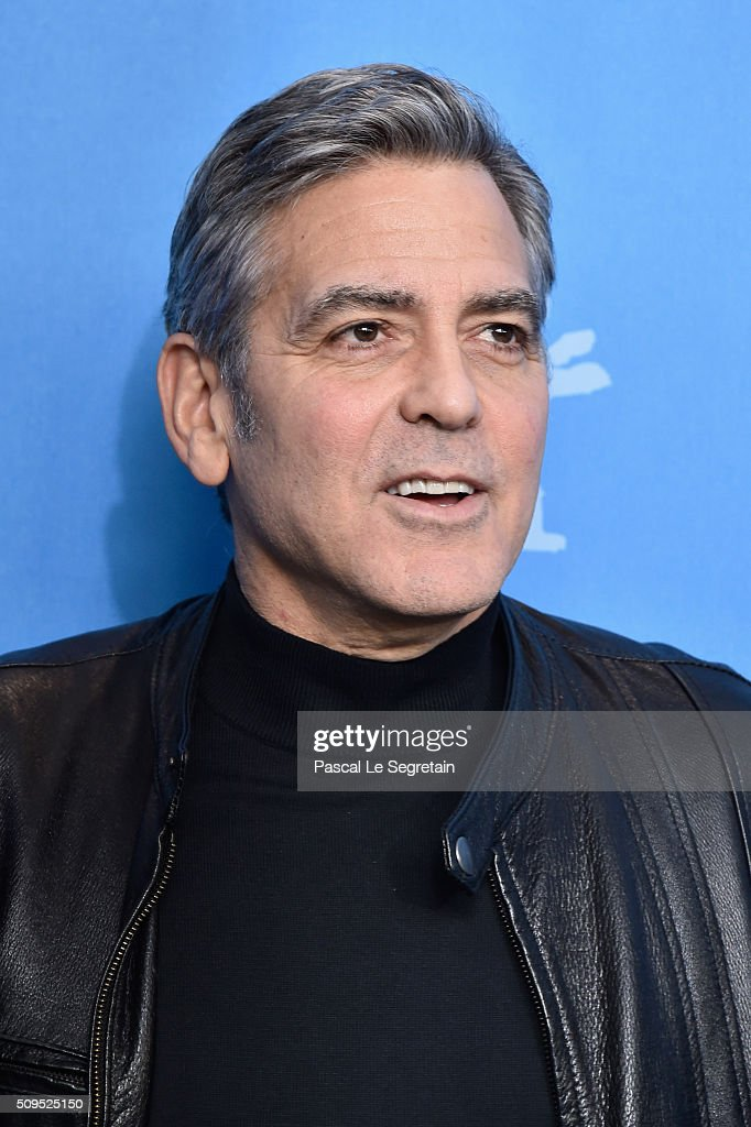 Actor <a gi-track='captionPersonalityLinkClicked' href=/galleries/search?phrase=George+Clooney&family=editorial&specificpeople=202529 ng-click='$event.stopPropagation()'>George Clooney</a> attends the 'Hail, Caesar!' photo call during the 66th Berlinale International Film Festival Berlin at Grand Hyatt Hotel on February 11, 2016 in Berlin, Germany.