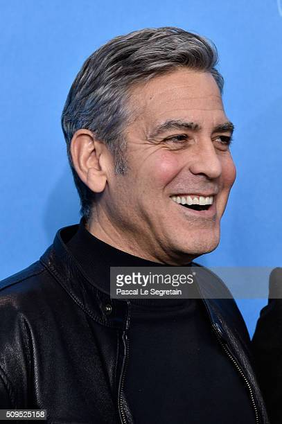 Actor George Clooney attends the 'Hail Caesar' photo call during the 66th Berlinale International Film Festival Berlin at Grand Hyatt Hotel on...
