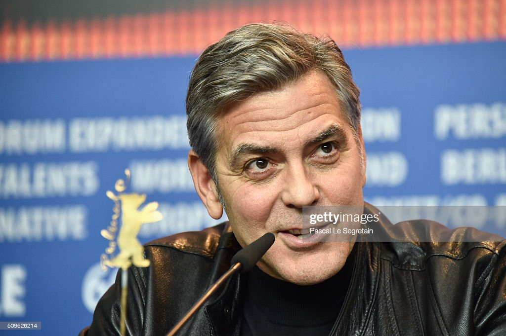 Actor <a gi-track='captionPersonalityLinkClicked' href=/galleries/search?phrase=George+Clooney&family=editorial&specificpeople=202529 ng-click='$event.stopPropagation()'>George Clooney</a> attends the 'Hail, Caesar!' press conference during the 66th Berlinale International Film Festival Berlin at Grand Hyatt Hotel on February 11, 2016 in Berlin, Germany.