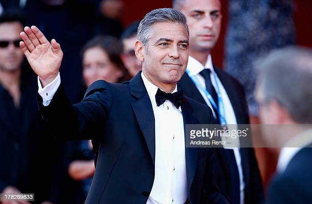 Actor George Clooney attends the Opening Ceremony And 'Gravity' Premiere during the 70th Venice International Film Festival at the Palazzo del Cinema...