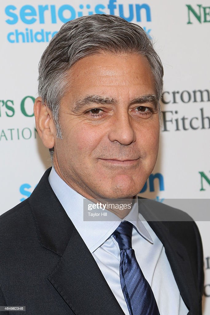 Actor George Clooney attends the SeriousFun Children's Network's New York City Gala at Avery Fisher Hall on March 2, 2015 in New York City.