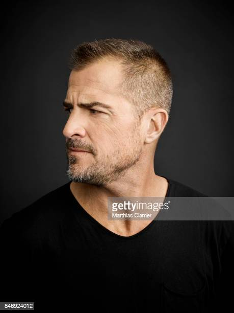 Actor George Eads from 'MacGyver' is photographed for Entertainment Weekly Magazine on July 21 2016 at Comic Con in the Hard Rock Hotel in San Diego...