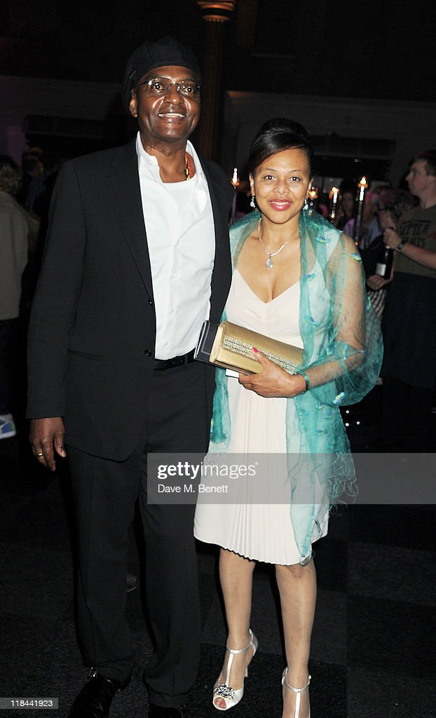 Actor <a gi-track='captionPersonalityLinkClicked' href=/galleries/search?phrase=George+Harris&family=editorial&specificpeople=234590 ng-click='$event.stopPropagation()'>George Harris</a> (L) attends an after party celebrating the World Premiere of 'Harry Potter And The Deathly Hallows Part 2' at Old Billingsgate Market on July 7, 2011 in London, England.