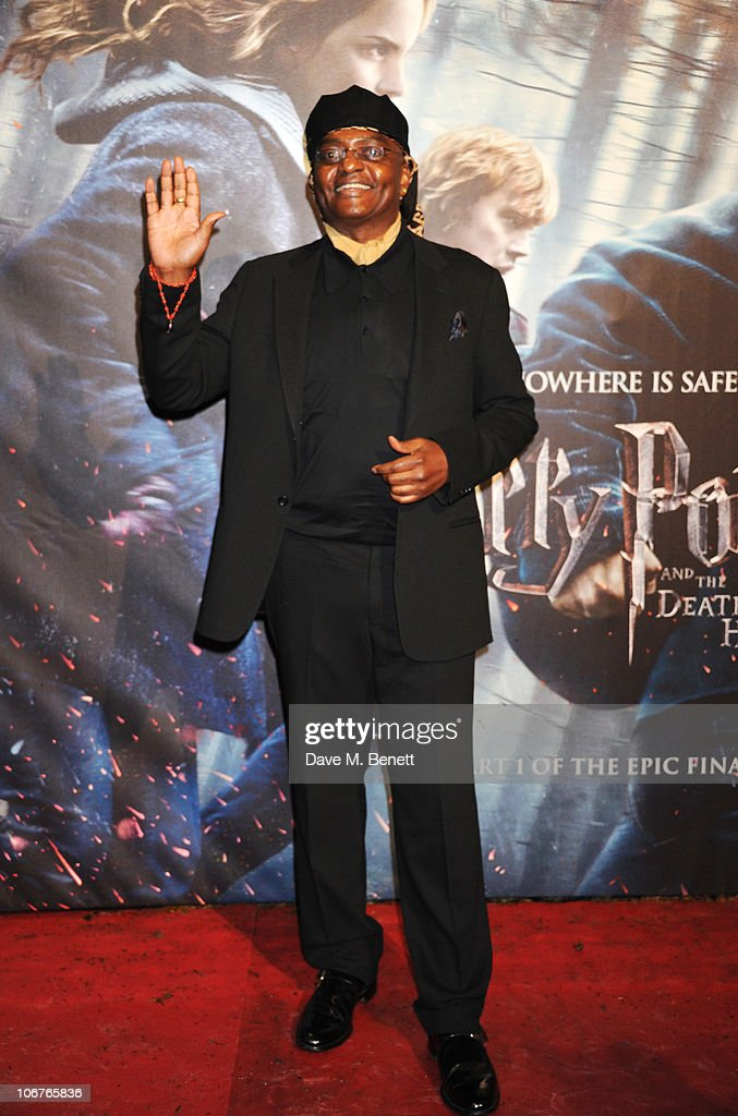 Actor <a gi-track='captionPersonalityLinkClicked' href=/galleries/search?phrase=George+Harris&family=editorial&specificpeople=234590 ng-click='$event.stopPropagation()'>George Harris</a> attends the world premiere of Harry Potter And The Deathly Hallows: Part 1 at Odeon Leicester Square on November 11, 2010 in London, England.